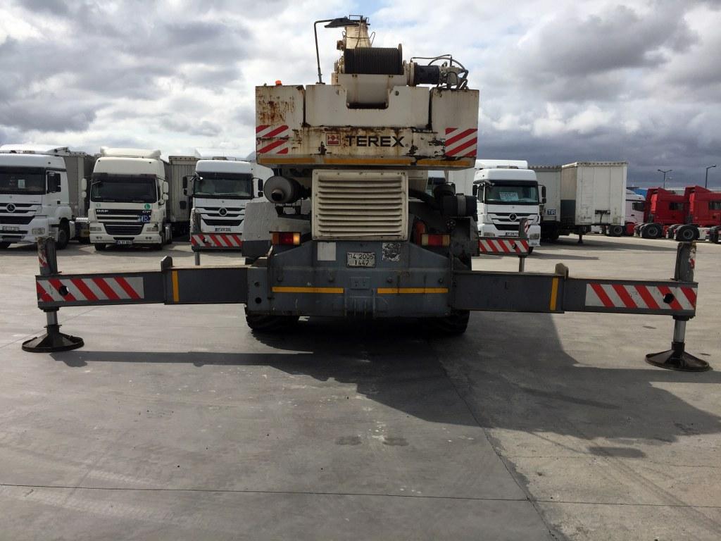 2002 TEREX  PPM-A 600 TELESCOPIC CRANE  - Erçal Trucks