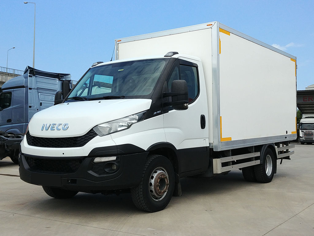 2015 MODEL IVECO 70 C 15 3750N - CLOSED CASE