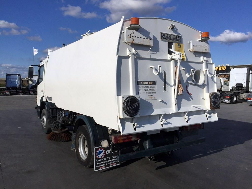 2012 MERCEDES ATEGO 1518 ROAD CLEANING TRUCK  - Erçal Trucks