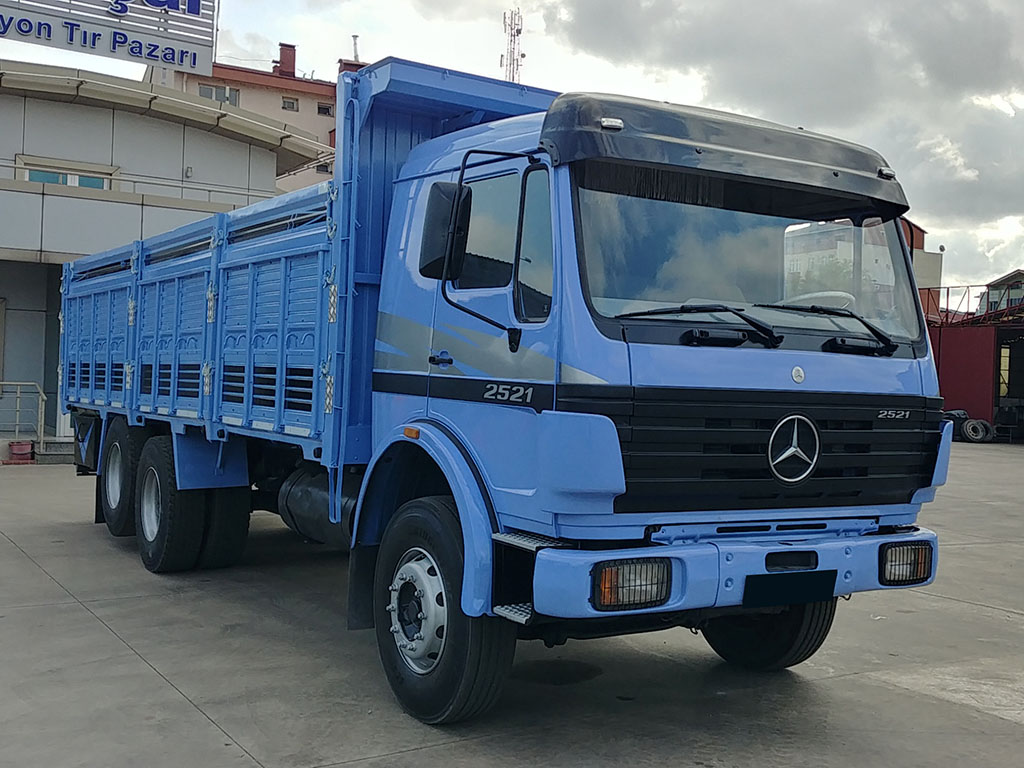 2000 MODEL MERCEDES BENZ AXOR 2521 - WOODEN CASE  - Erçal Trucks