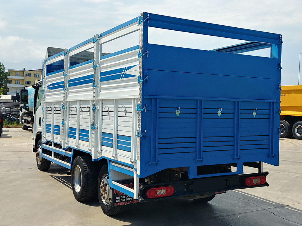 2011 MODEL ISUZU NPR 3D - 8 WHEELS - OPEN CASE  - Erçal Trucks