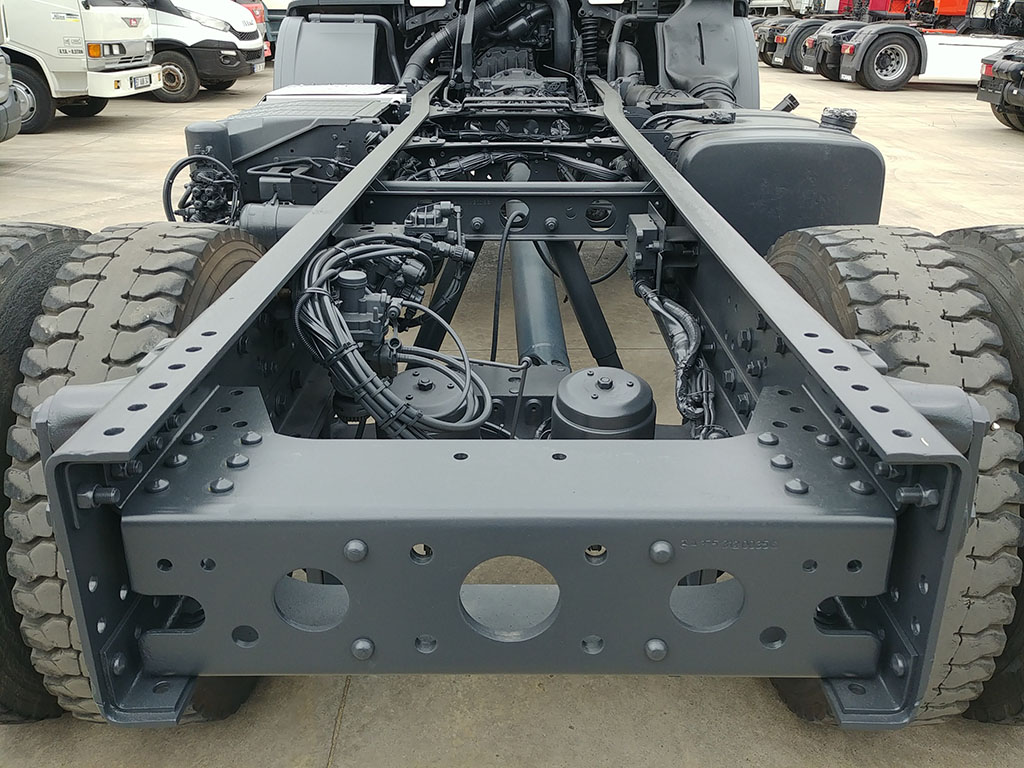 2011 MODEL MERCEDES AXOR 1824 - CHASSIS   - Erçal Trucks
