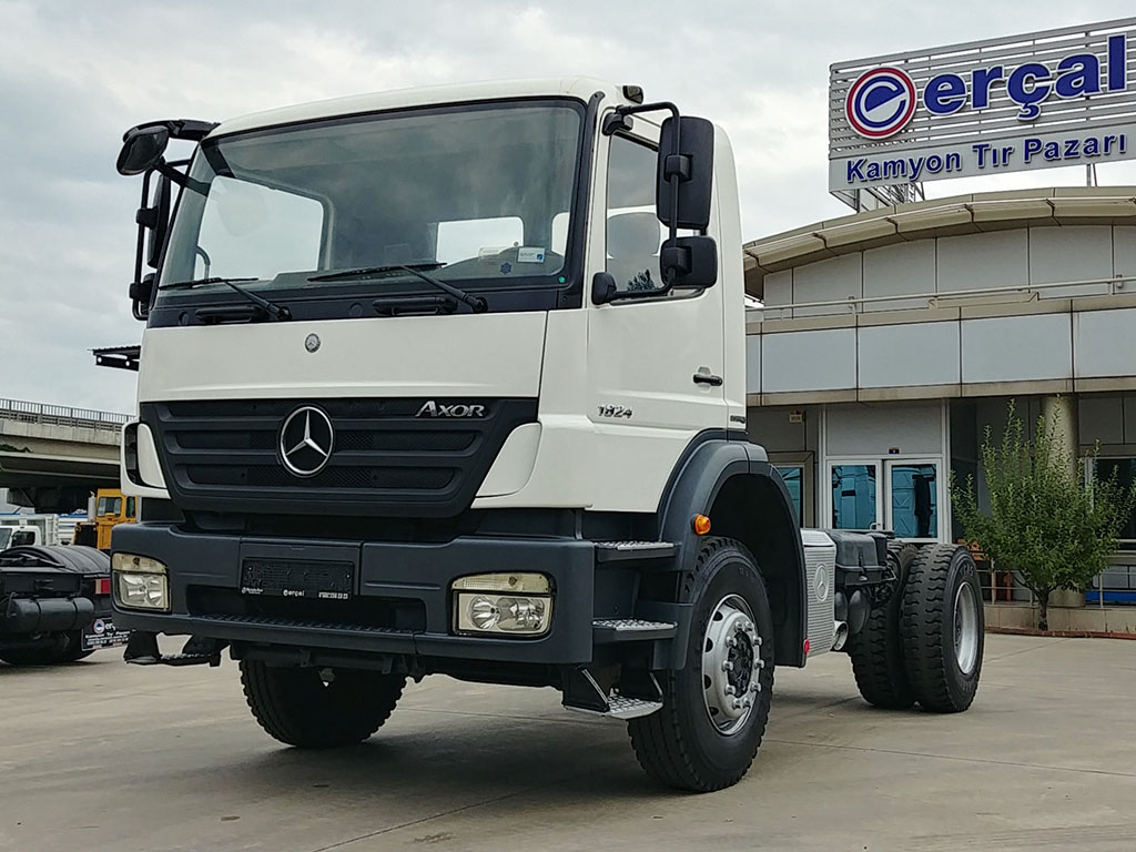2011 MODEL MERCEDES AXOR 1824 - CHASSIS