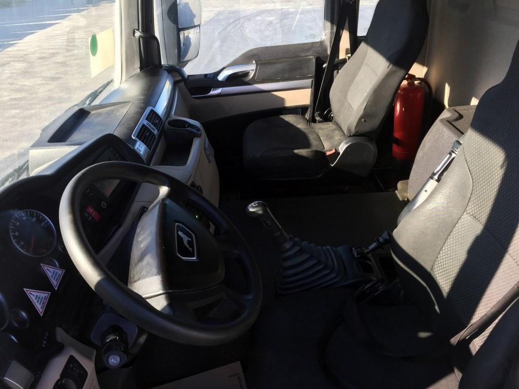 2018 MAN TGS 41.420 AC 8X4 EURO 6 HARDOX DAMPER 72 UNITS  - Erçal Trucks