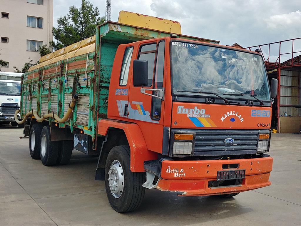 1996 MODEL CARGO 2520 - MOTORIZED IRRIGATION TANKER  - Erçal Trucks