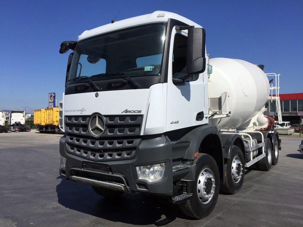 2018 AROCS 4142 E6 AC AUTO 8X4 CONCRETE MIXER  - Erçal Trucks