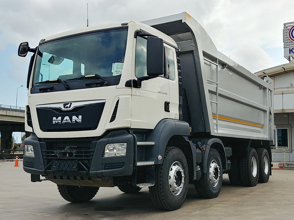 2018 MODEL MAN TGS 41.420 - HARDOX - AIR CONDITIONING
