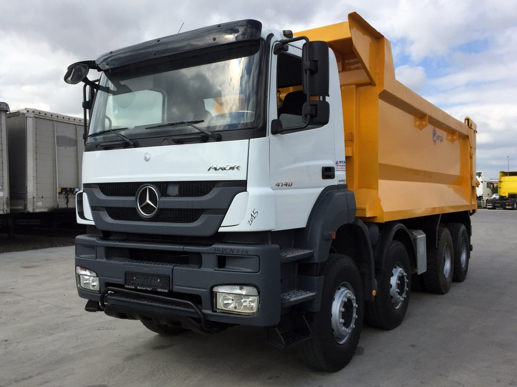 2015 MERCEDES AXOR 4140 AC 8X4 HARDOX TIPPERSHORT CHASSIS