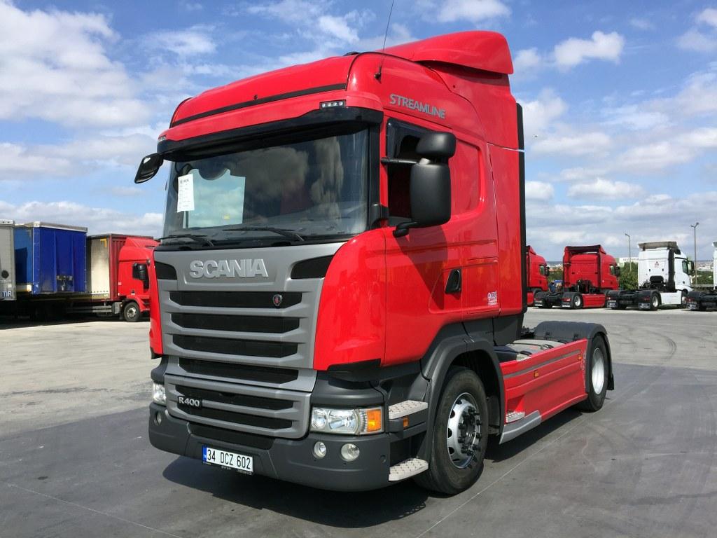 2015 SCANIA STREAMLİNE R 400/AUTO AC-RETARDER