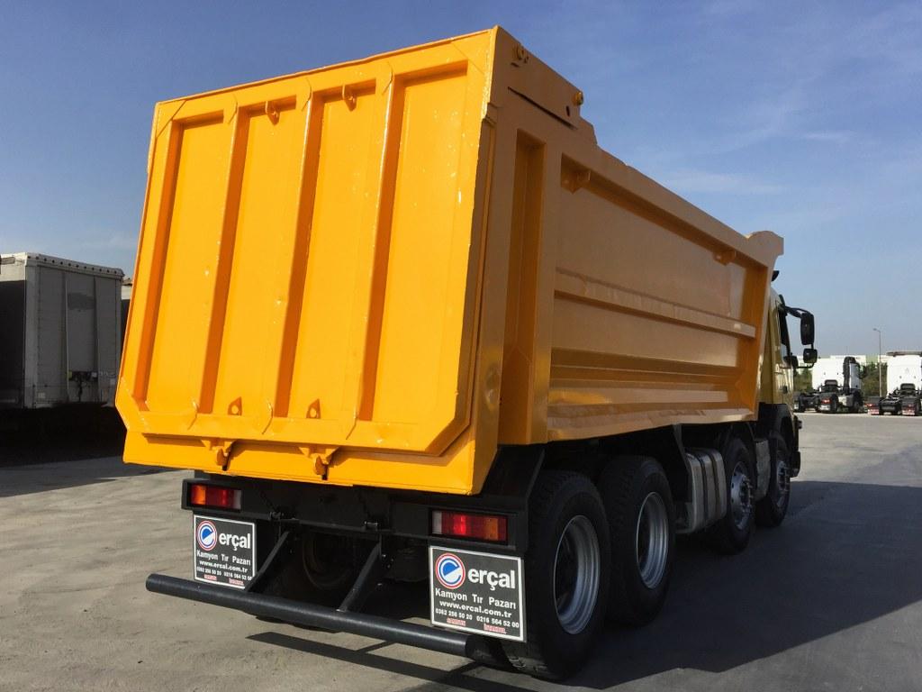 2015 VOLVO FMX 460 AC 8X4 HARDOX TIPPER  - Erçal Trucks