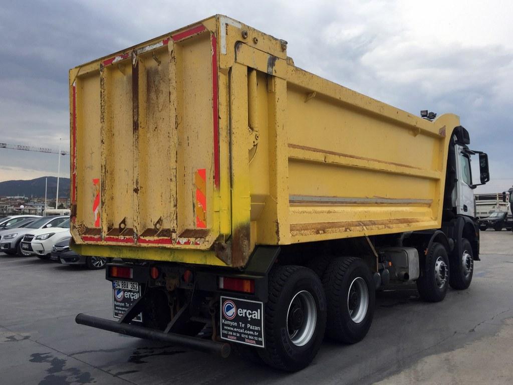 2018 MERCEDES AROCS 4145 AC-8X4   HARDOX TIPPER  - Erçal Trucks