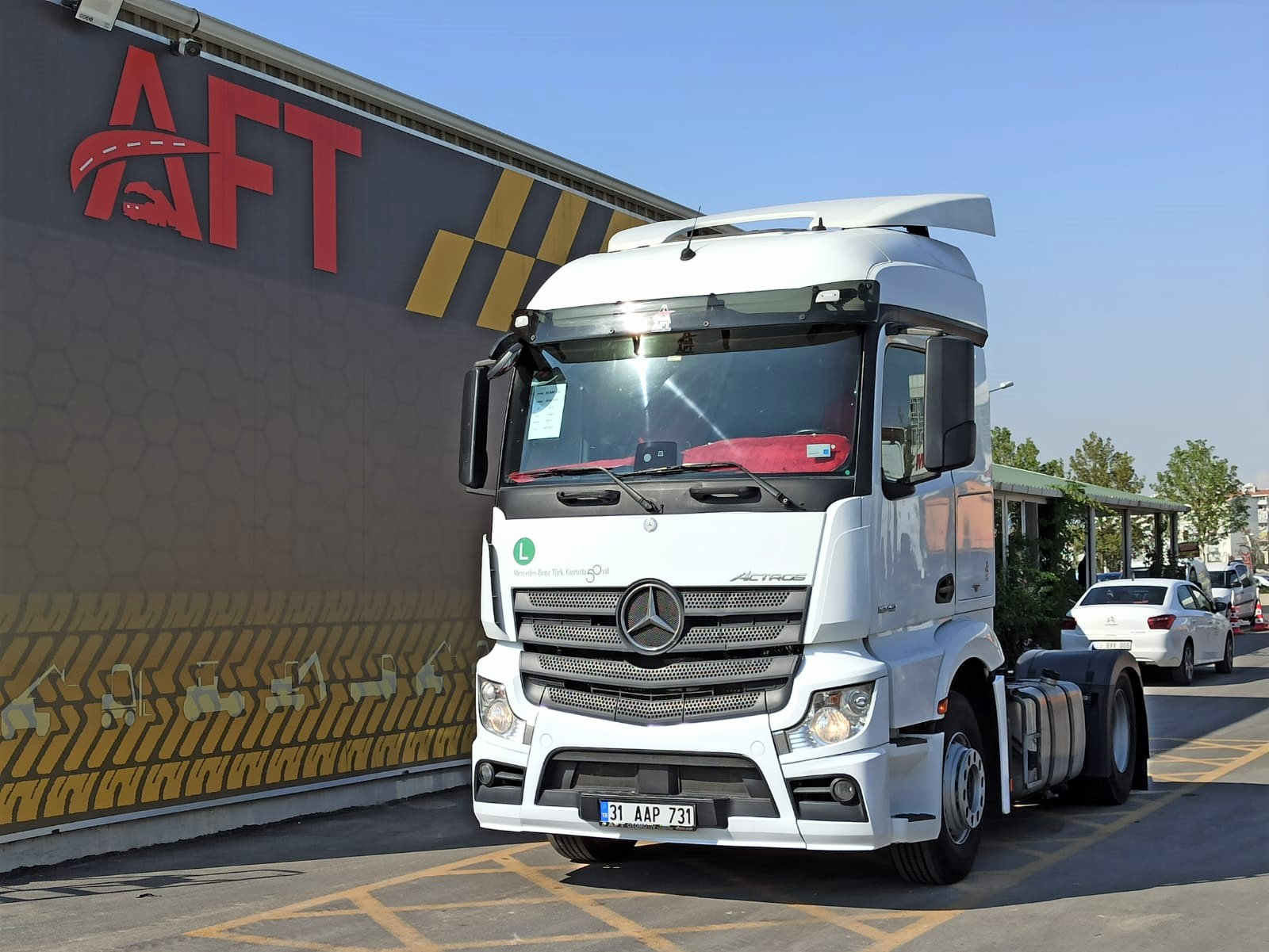 2017 MODEL MERCEDES ACTROS 1842 AUTO - AC