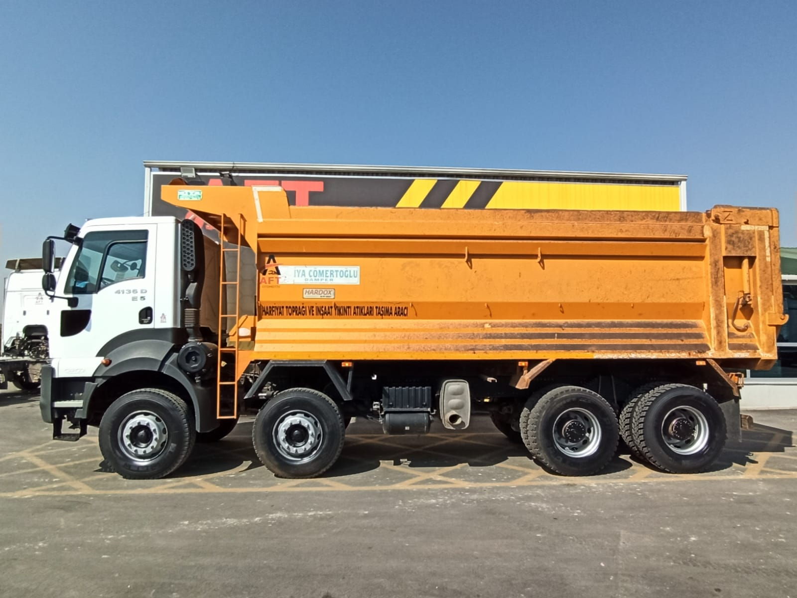 2016 MODEL FORD CARGO 4136 D E5 AC 8X4 HARDOX TIPPER  - Erçal Trucks