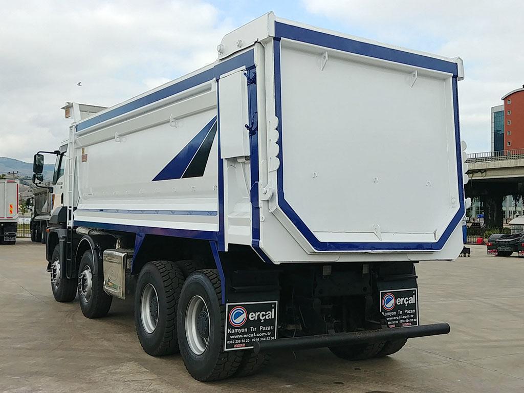 2018 CARGO 4142 XD - HARDOX - AIR CONDITIONING - AUTOMATIC GEAR  - Erçal Trucks