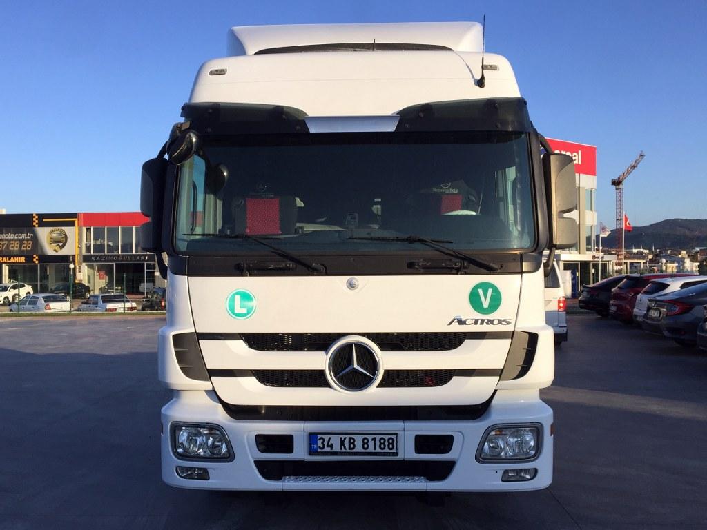 2013 MERCEDES ACTROS 1841 AUTO  AC DOUBLE WAREHOUSE  - Erçal Trucks