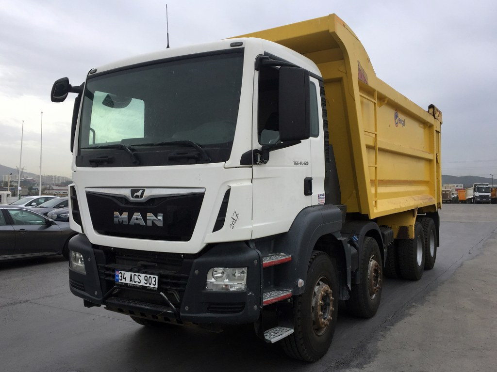 2017 MAN TGS 41.420 AC 8X4 EURO6 HARDOX TIPPER 7 UNITS