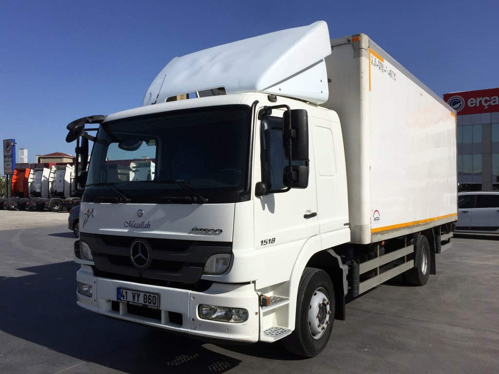 2013 MERCEDES ATEGO 1518/REFRİGERATED LİFT