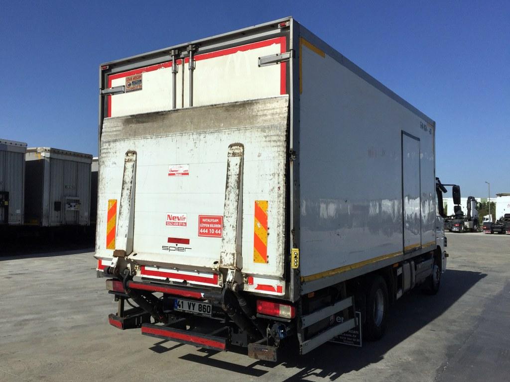 2013 MERCEDES ATEGO 1518/REFRİGERATED LİFT  - Erçal Trucks