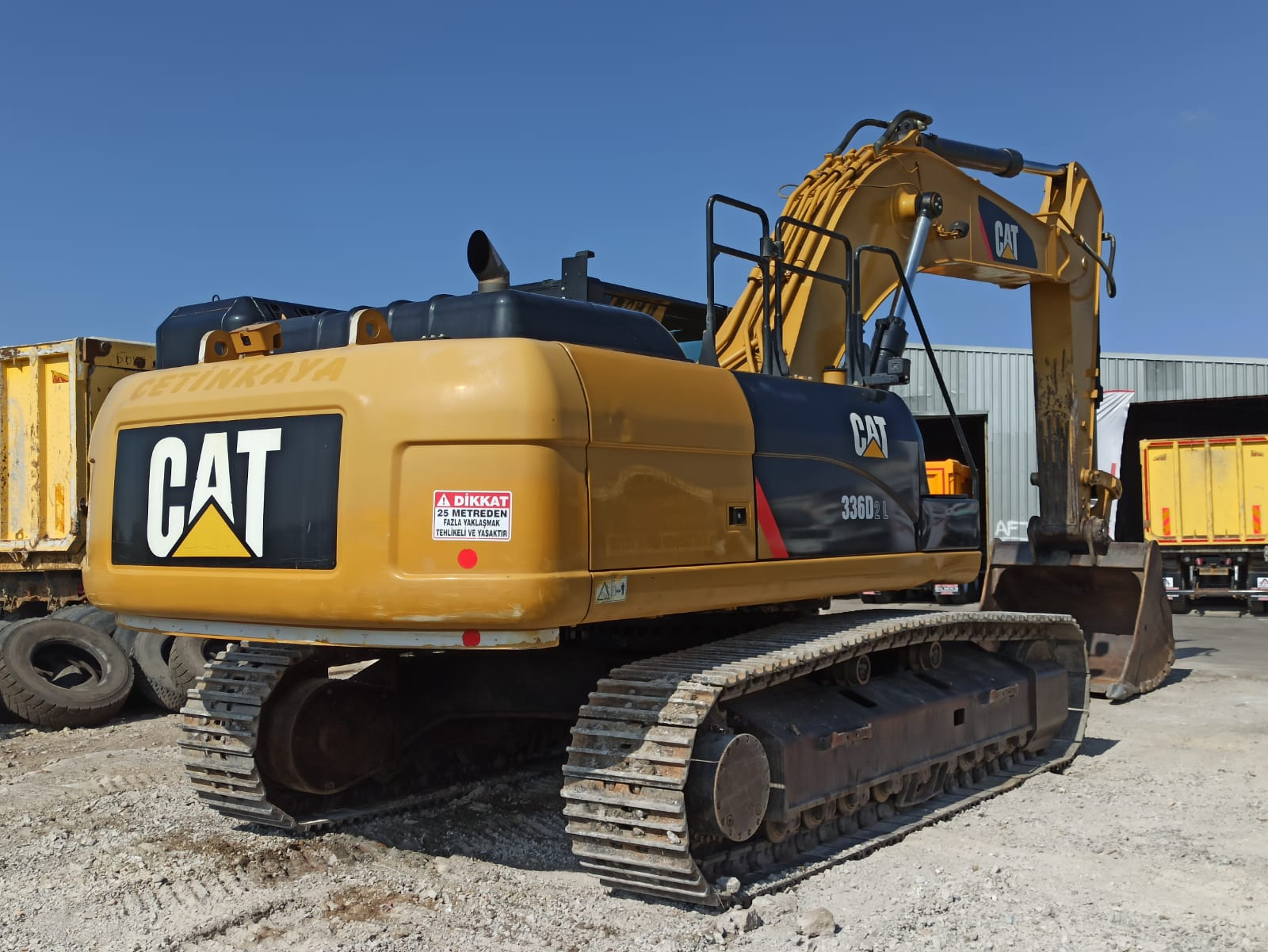 2016 MODEL CATERPILLAR 336 D2L EXCAVATOR  - Erçal Trucks