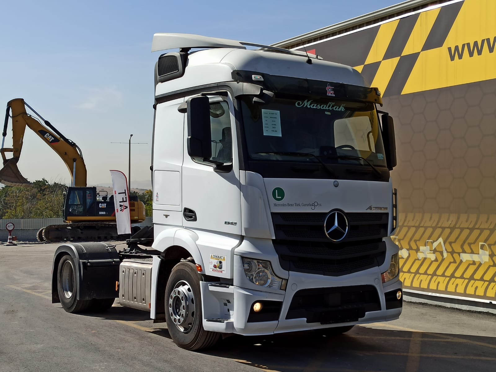 2017 MODEL MERCEDES ACTROS 1842 AUTO - AC  - Erçal Trucks