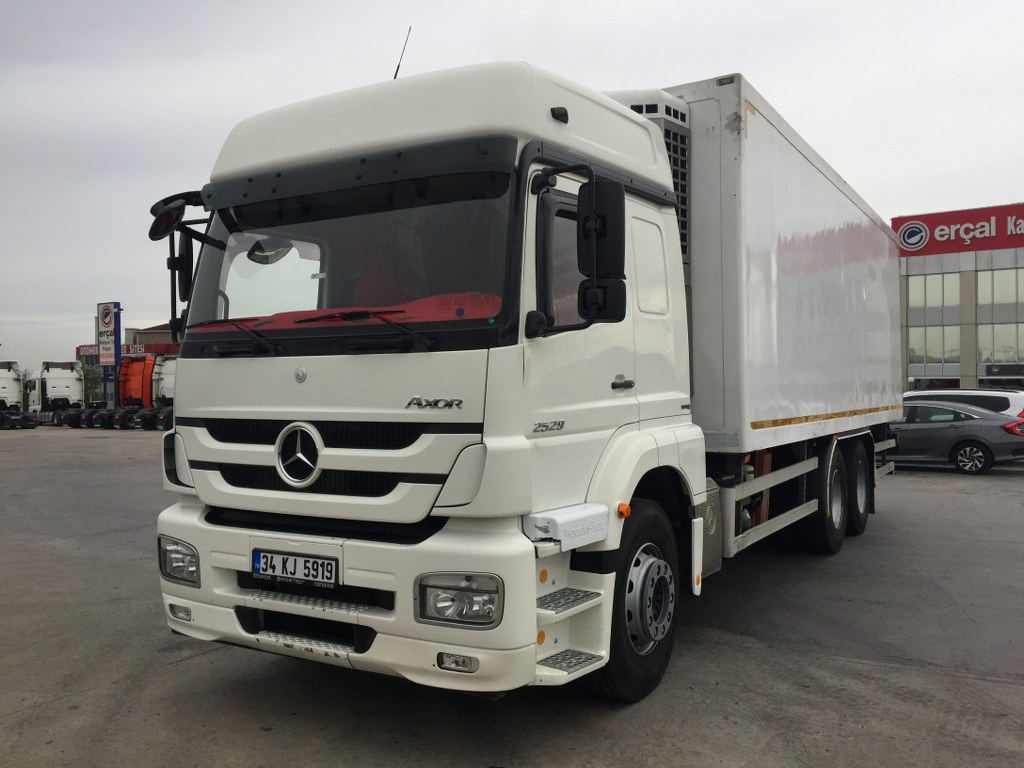 2014 MERCEDES AXOR 2529 / REFRİGERATED LİFT SBIII SR+
