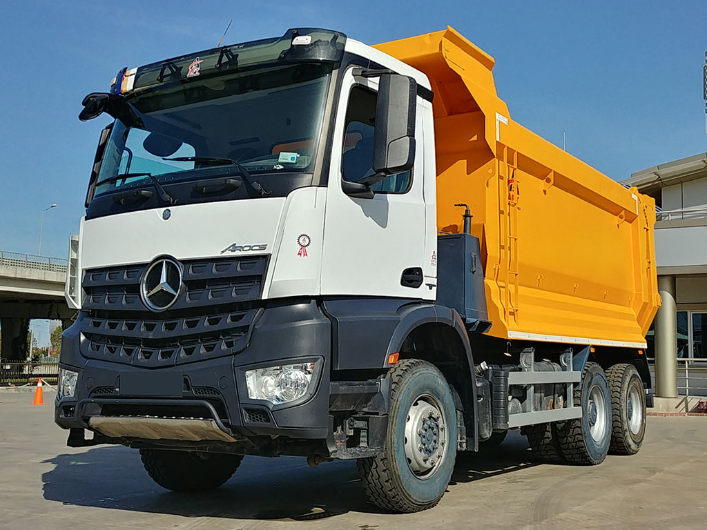 2017 MODEL MERCEDES AROCS 3342 - MANUAL - AIR CONDITIONING