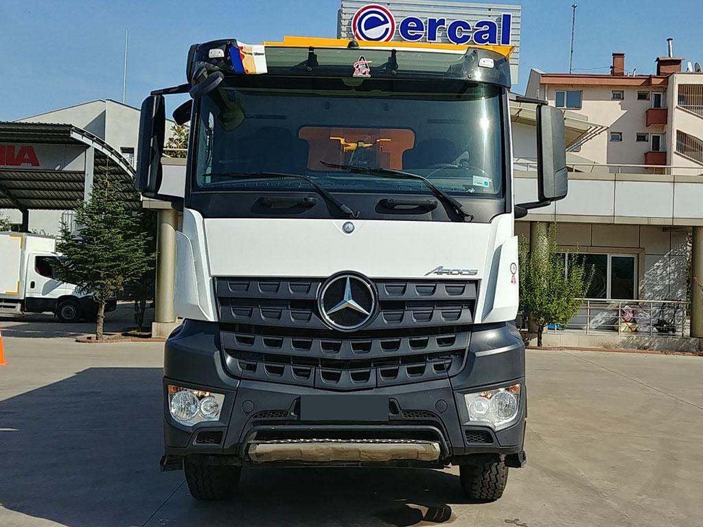 2017 MODEL MERCEDES AROCS 3342 - MANUAL - AIR CONDITIONING  - Erçal Trucks