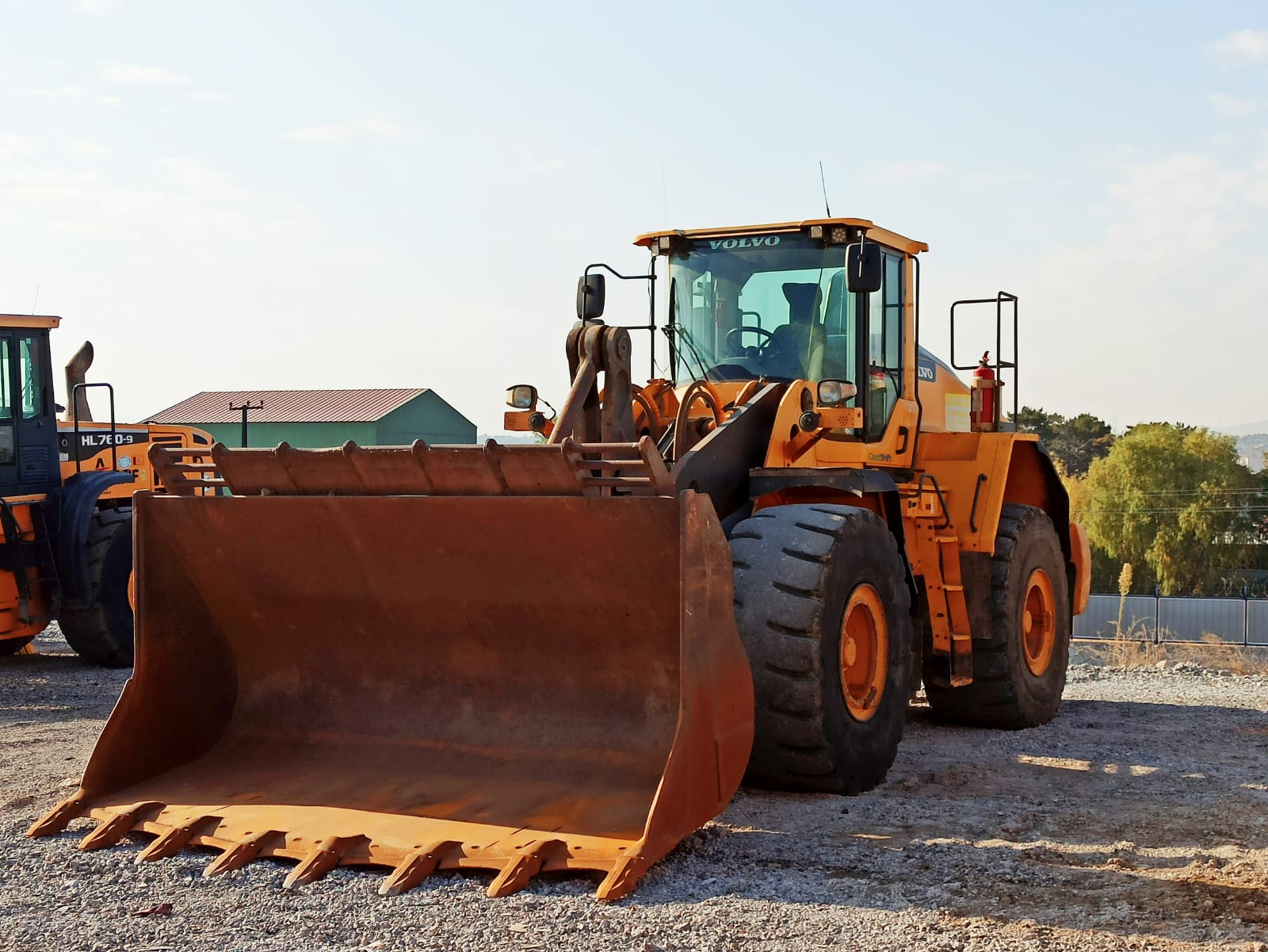 2015 MODEL VOLVO L 180 H WHEELED LOADER