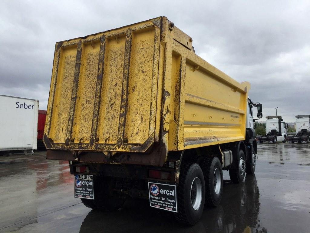 2017 FORD 4142 MANUEL  KLİMA HARDOX TIPPER  - Erçal Trucks
