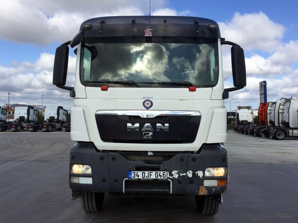 2011 MAN TGS 41.400 KLİMA HARDOX TIPPER  - Erçal Trucks