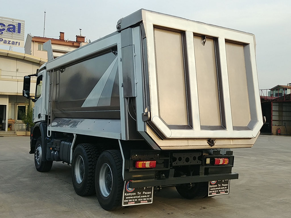 2018 MODEL MERCEDES AROCS 3342 - AIR CONDITIONING - AUTOMATIC GEAR  - Erçal Trucks