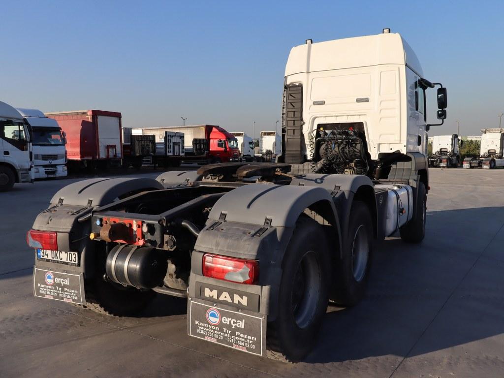 2008 MAN TGA 33.480 RETARDER TRACTOR  - Erçal Trucks