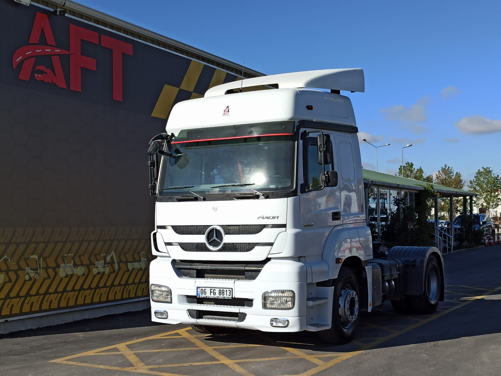 2014 MODEL MERCEDES AXOR 1840 E5 AUTO RETARDER