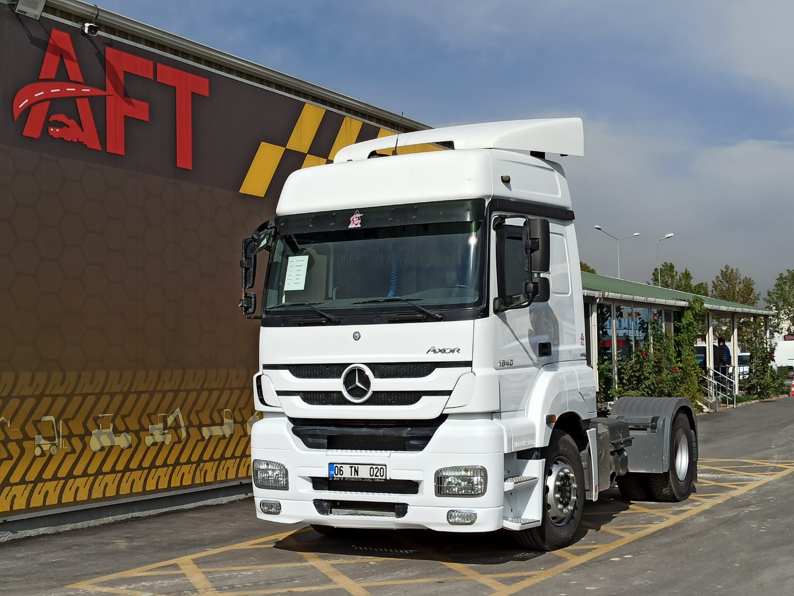 2015 MODEL MERCEDES AXOR 1840 E5 AUTO RETARDER