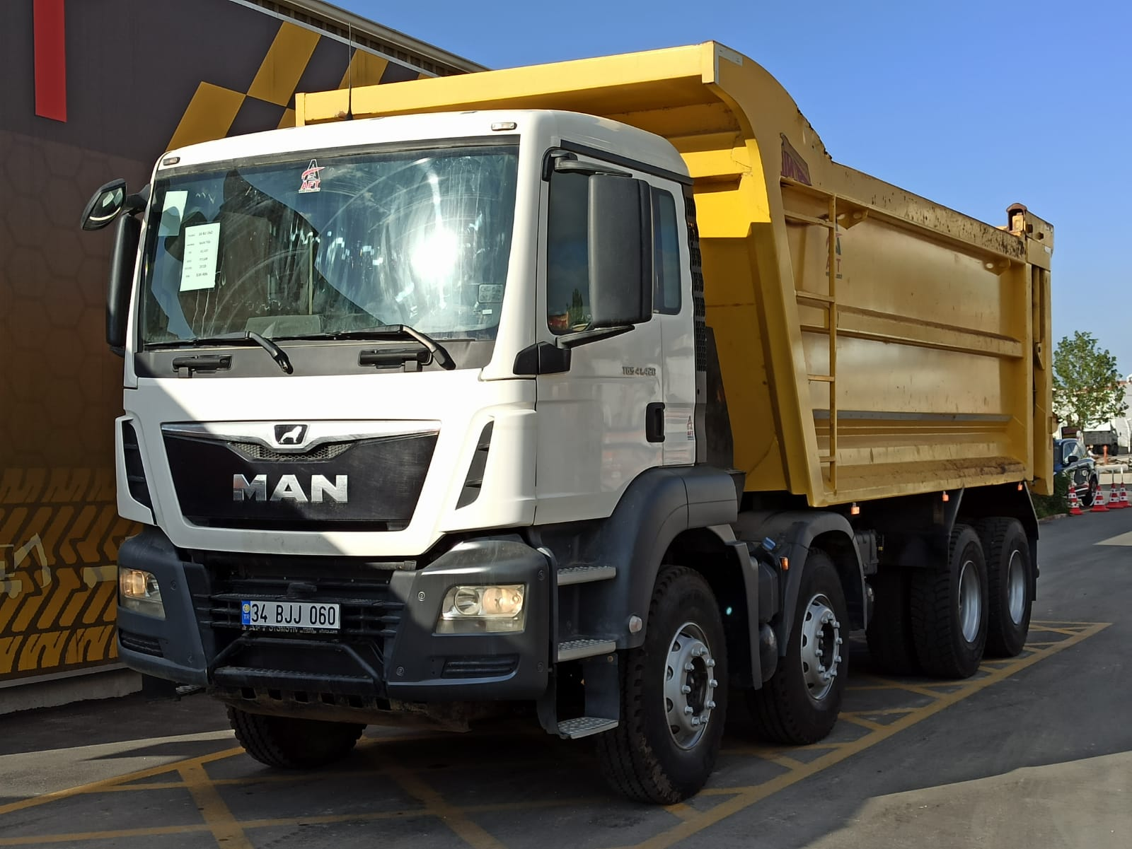 2018 MODEL MAN TGS 41.420 E6 AC 8X4 HARDOX TIPPER  - Erçal Trucks