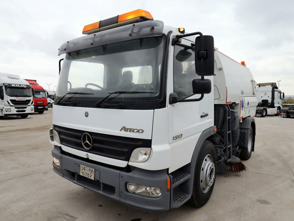 2006 MERCEDES ATEGO 1517  CLEANING TRUCK