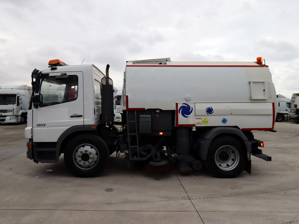 2006 MERCEDES ATEGO 1517  CLEANING TRUCK  - Erçal Trucks