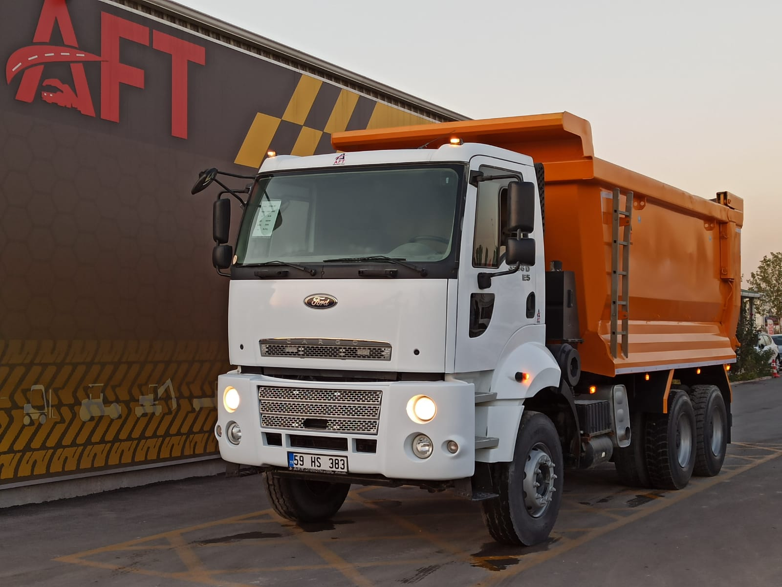 2014 MODEL FORD CARGO 3536 D E5 AC HARDOX TIPPER