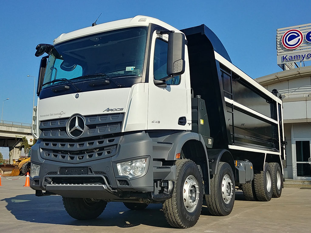 2018 MERCEDES AROCS 4145 - AIR CONDITIONING - OTM SHIFT - HARDOX