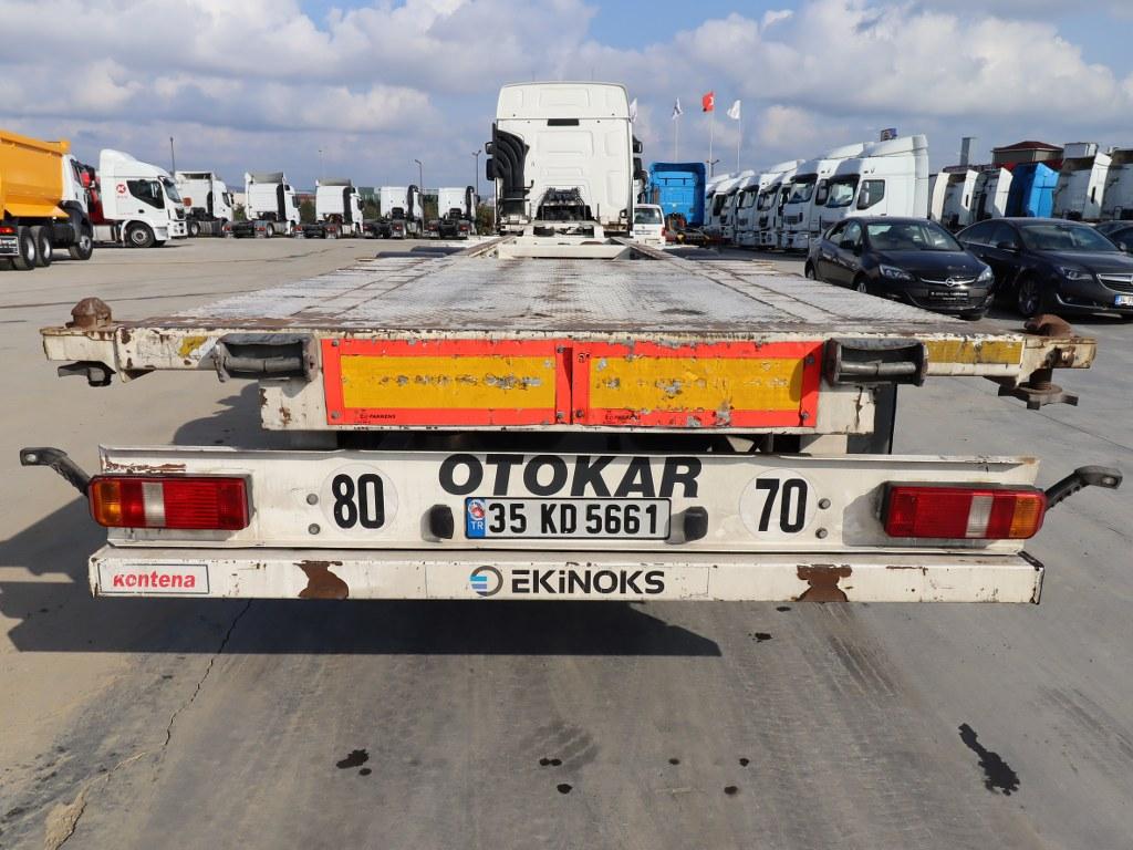 2015 Otokar/Pilot trailer  - Erçal Trucks