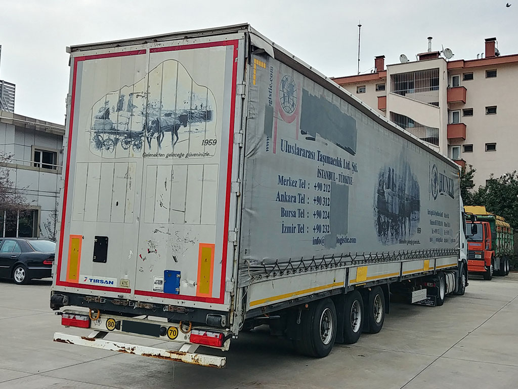 2013 TIRSAN SLIDING ROOF CURTAIN LIFT MASTER TOWEL TRAILER 13,60