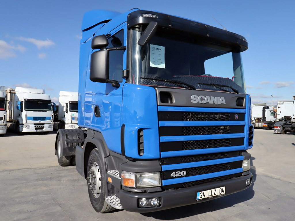 2007 SCANIA G 420 - RETARDER - AIR CONDITIONING - ENGINE MADE  - Erçal Trucks
