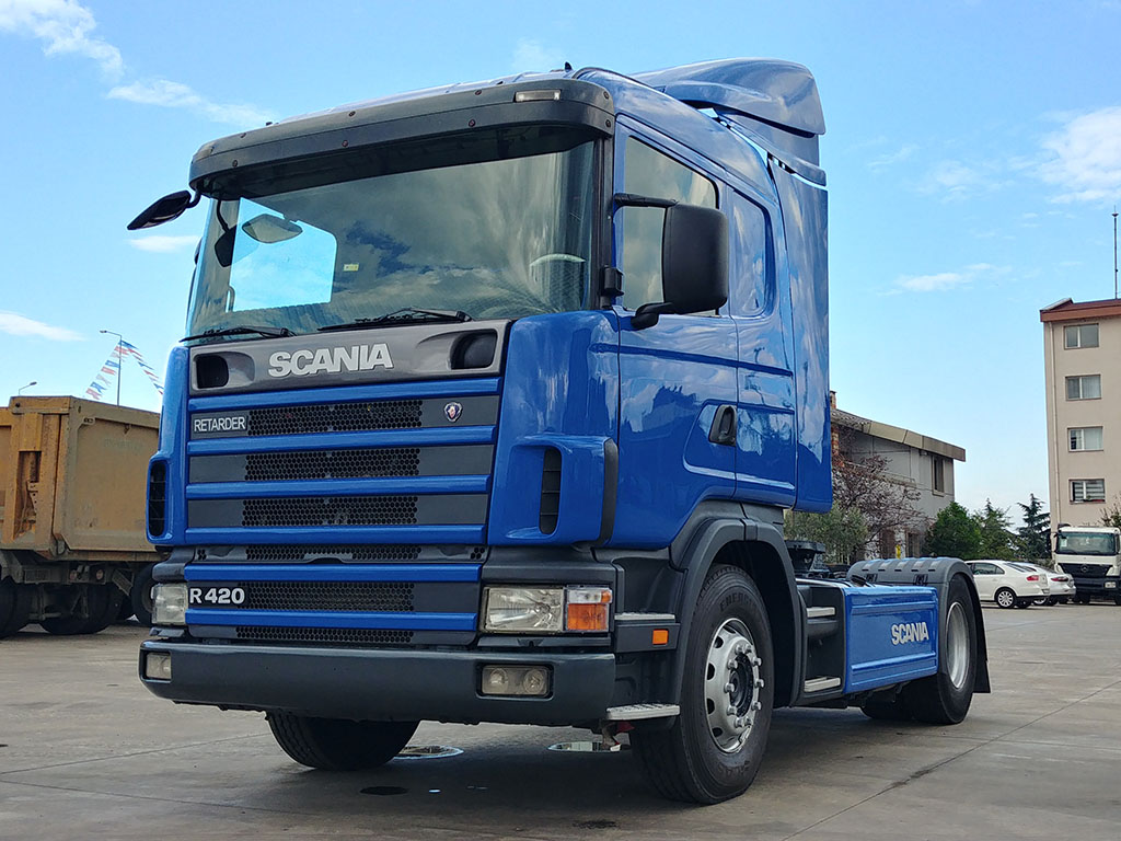 2007 SCANIA G 420 - RETARDER - AIR CONDITIONING - ENGINE MADE
