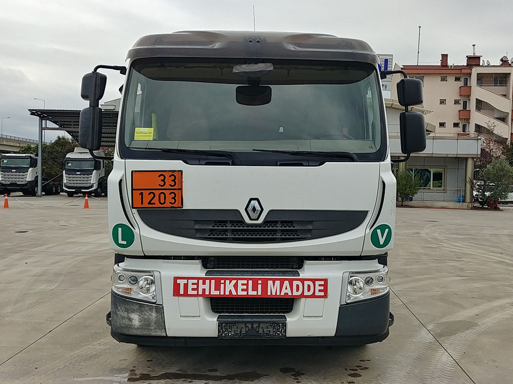 2010 RENAULT 380 TANKER - AC - ADR - AUTOMATIC GEAR  - Erçal Trucks