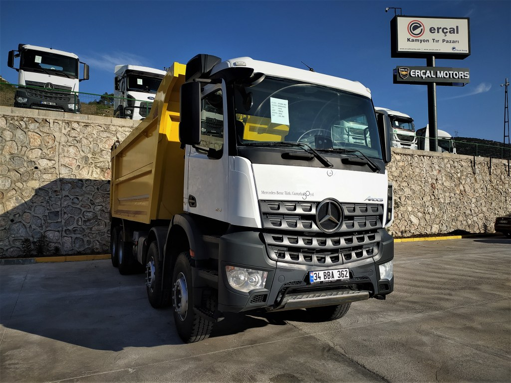 2018 Mercedes Arocs 4145/Auto-Ac-Hardox-Tipper  - Erçal Trucks