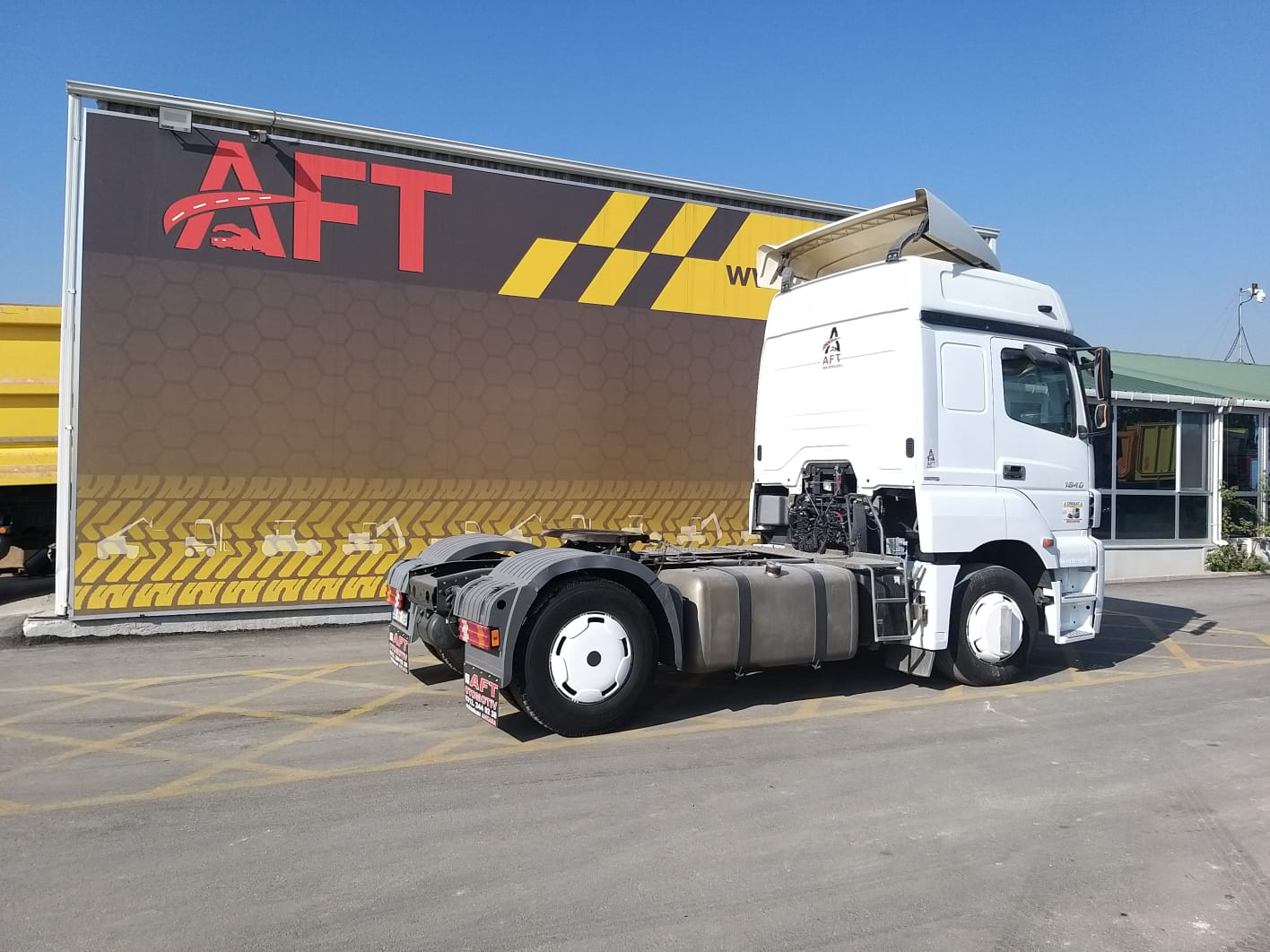 2014 MODEL MERCEDES AXOR 1840 E5 AUTO RETARDER  - Erçal Trucks