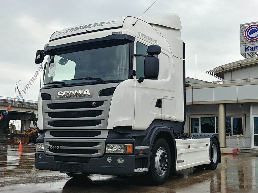 2014 SCANIA R 440 - RETARDER - AIR CONDITIONING - DOUBLE TANK - ERROR FREE