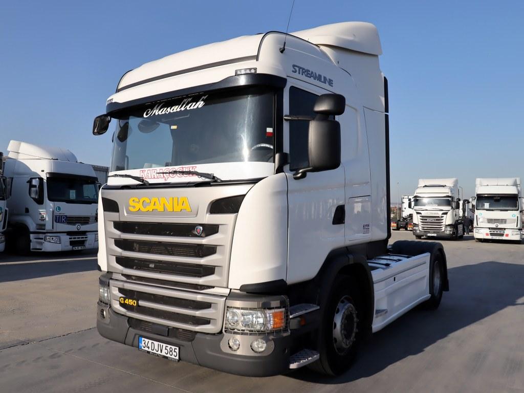 2018 Scania G 450/Ac-Retarder