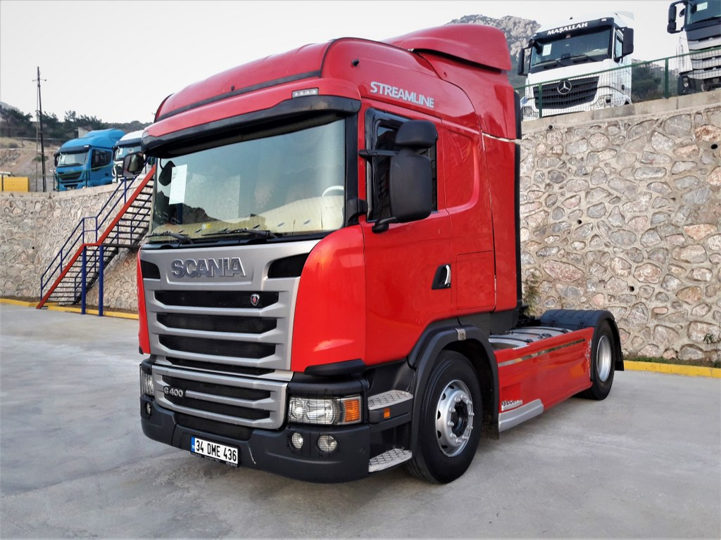 2015 SCANIA G400 / AUTOMATIC-RETARDER-AIR-CONDITIONING ORIGINAL ERROR FREE