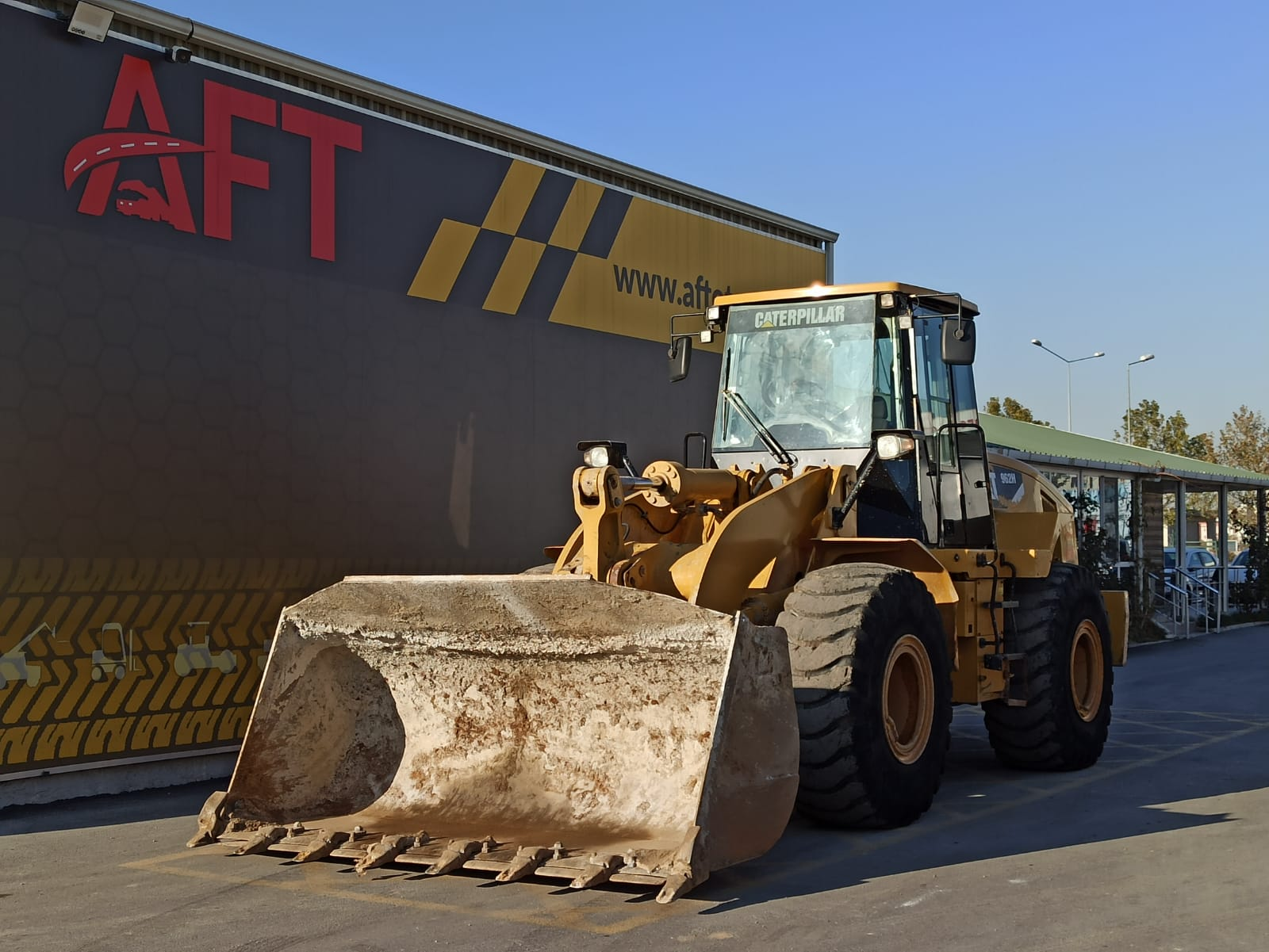 2014 MODEL CATERPİLLAR 962H WHEELED LOADER